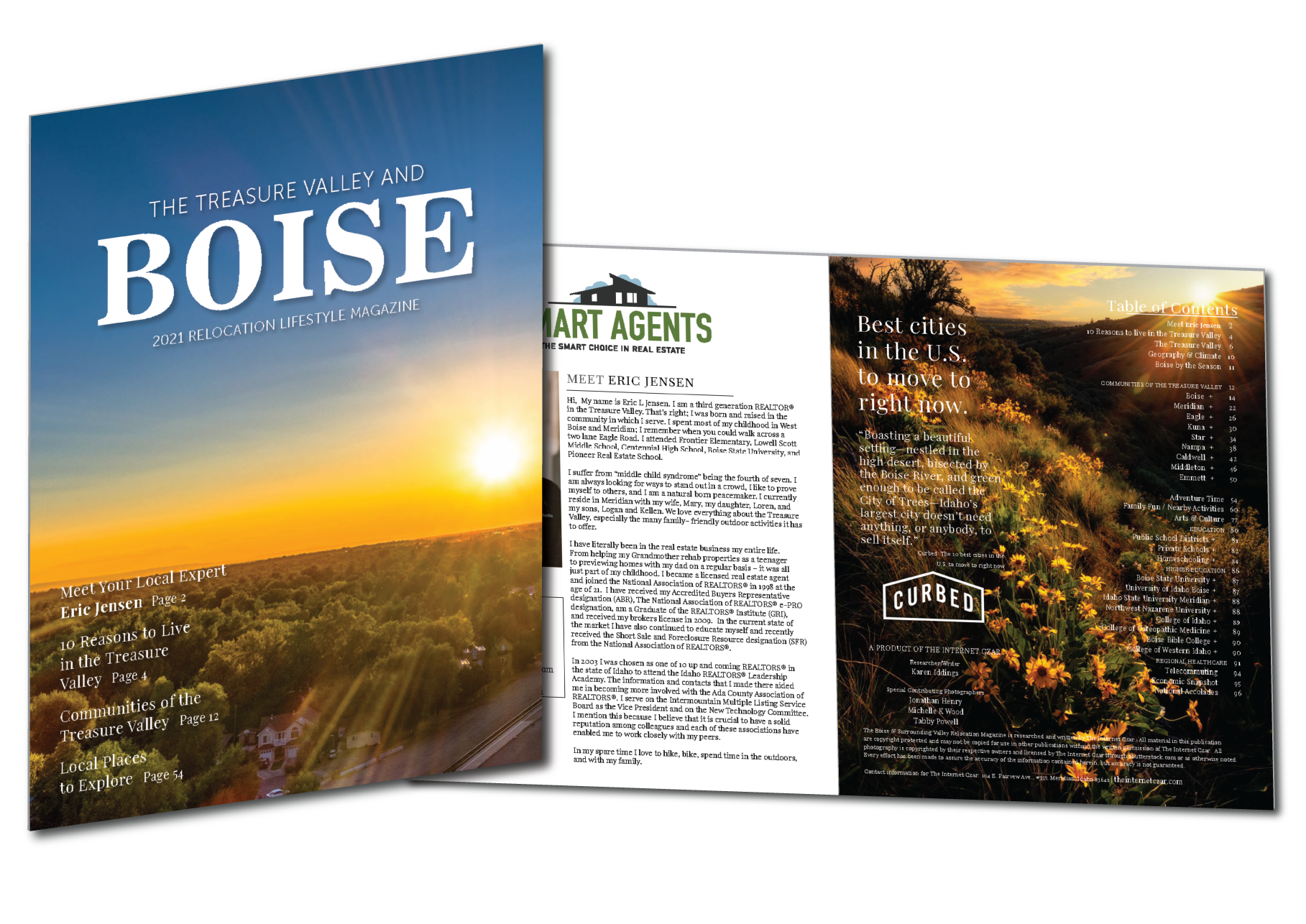 2021 Treasure Valley Relocation Lifestyle Magazine